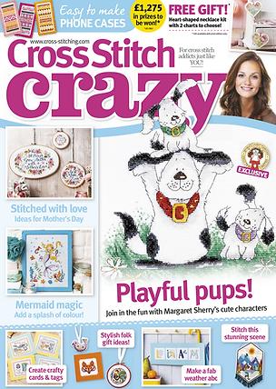 Cross Stith Crazy Magazine March 2017