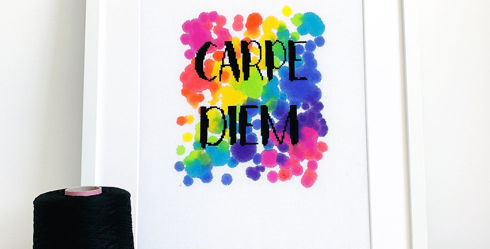 Carpe Diem - Modern Cross Stitch Kit