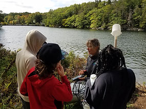 Water Quality Testing West Harbor Pond