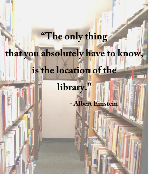 But, where's the library?