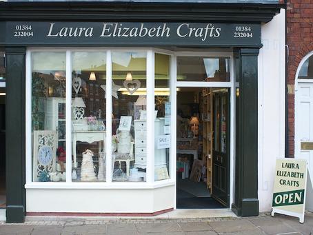 Yaaay...I have a real shop (sort of!)