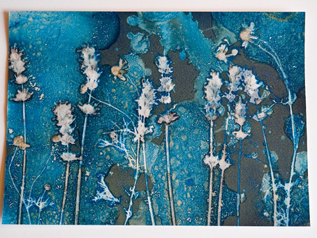 Wet Cyanotypes - Who would have thought?