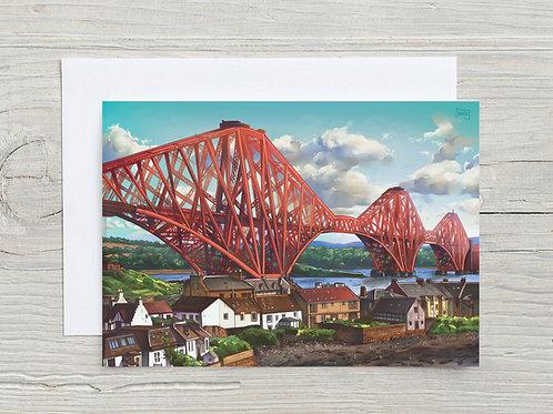 Greeting Card, 'Forth Bridge'