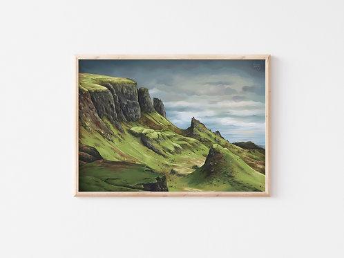 Print, 'The Quiraing'