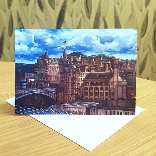 Greeting Card, 'North Bridge'