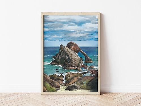 Print, 'Bow Fiddle Rock'