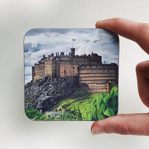Coaster, Edinburgh Castle