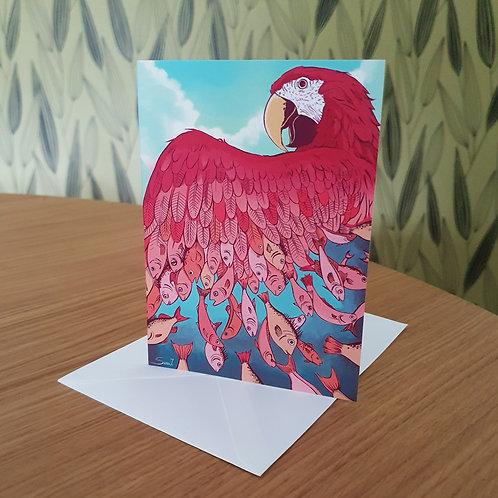 Greeting Card, 'Metamorphosis'
