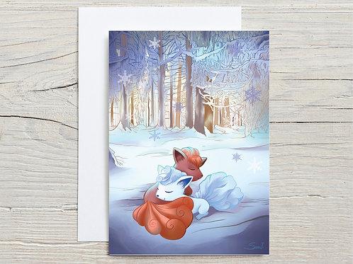 Greeting Card, 'Keep Warm'