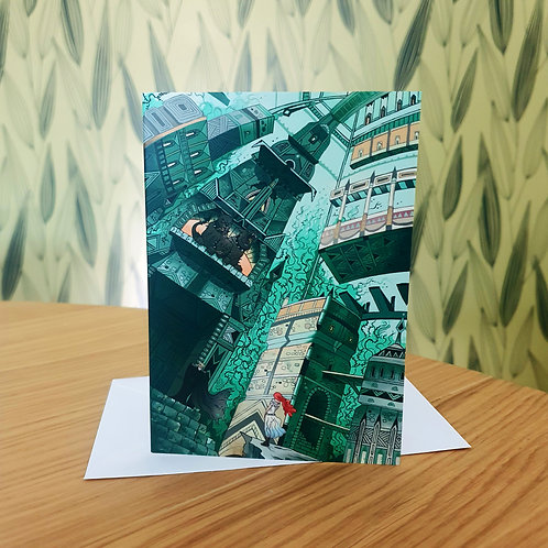Greeting Card, 'Underworld'