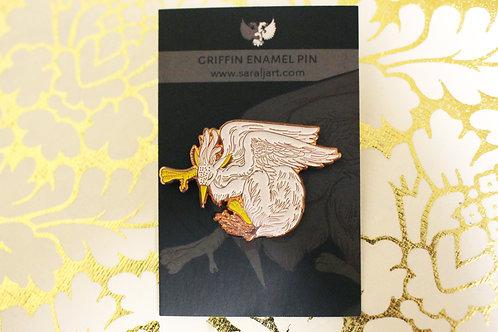 Enamel Pin, Griffin