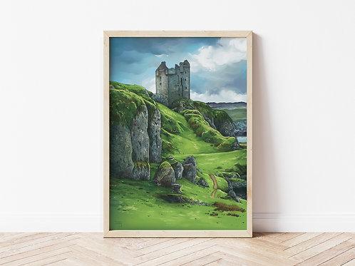Print, 'Gylen Castle'