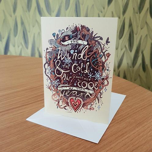 Greeting Card, 'Cold Air'