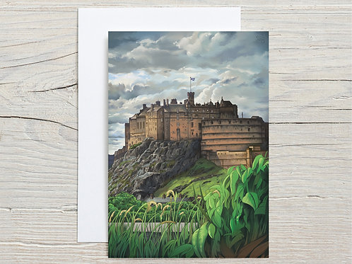 Greeting Card, 'Edinburgh Castle'