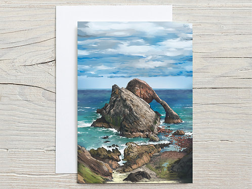 Greeting Card, 'Bow Fiddle Rock'