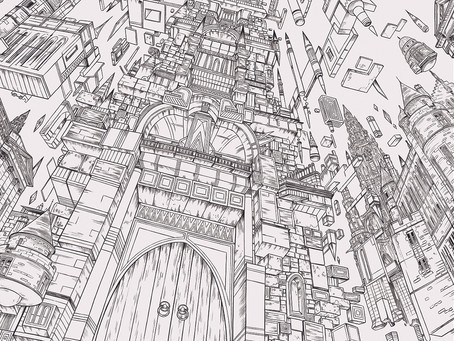 Making of an Image - Howl's Moving Castle