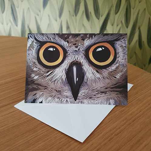 Greeting Card, 'Owl'