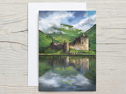 Greeting Card, 'Kilchurn Castle'