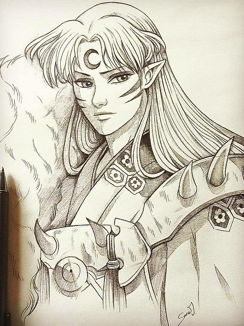 Commission, Pencil Sketch