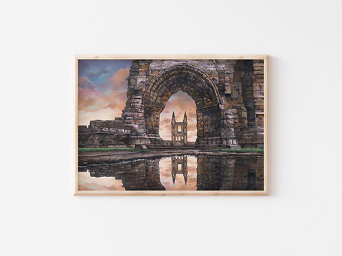Print, 'St Andrews Cathedral'