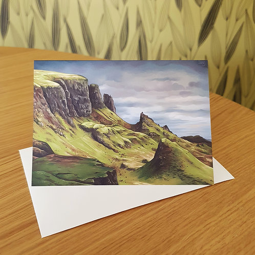 Greeting Card, 'The Quiraing'