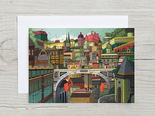 Greeting Card, 'Landscape'