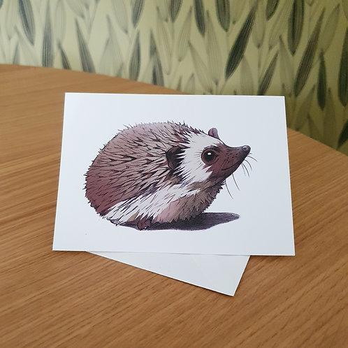 Greeting Card, 'Hedgehog'