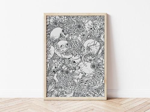Print, 'Memento Mori'