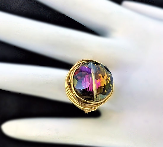Crystal Nest Ring