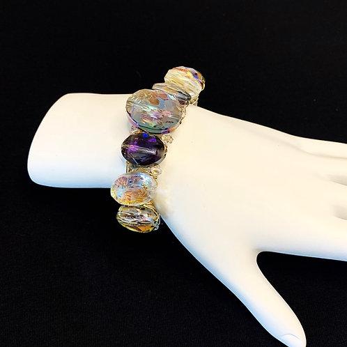 Multiple Crystal Cuff Bracelet