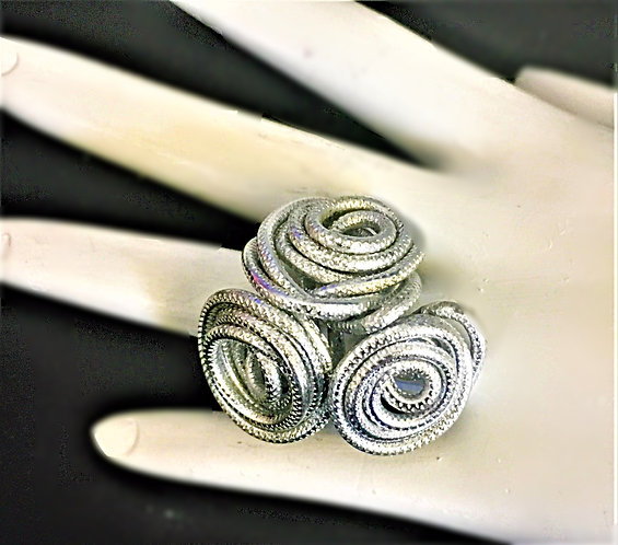 Triple Coil Ring