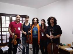 Grupo Schubert com Maria Elisa