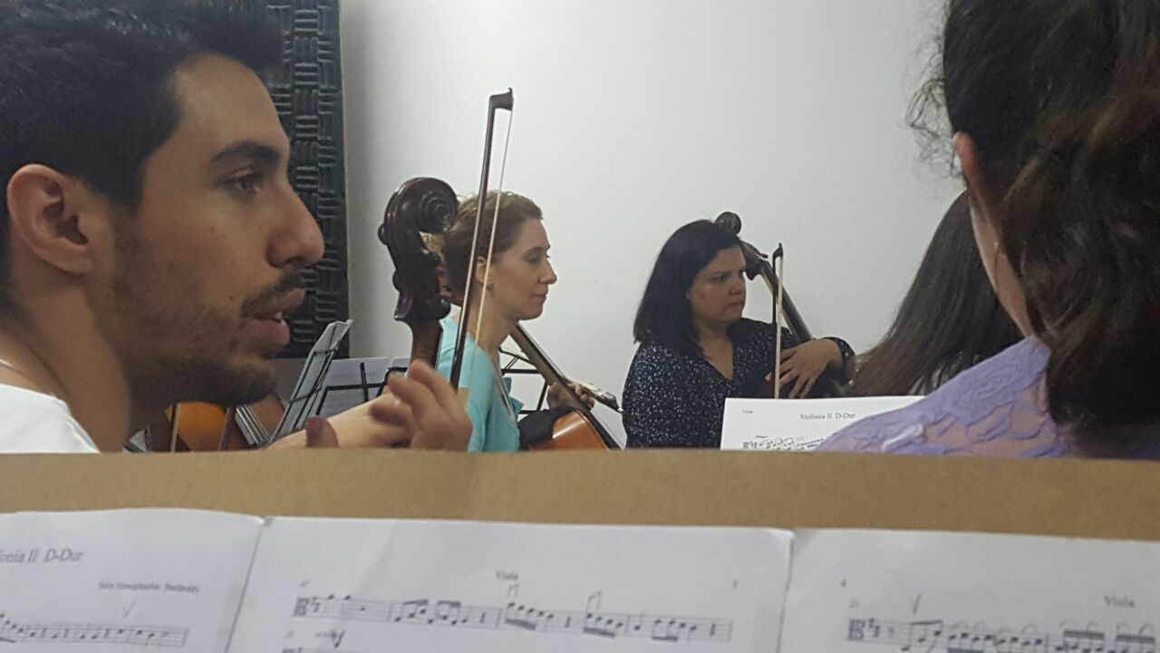 Ensaio de orquestra
