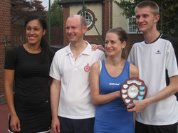 Mixed Doubles Finalists