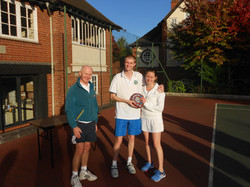 Mixed Doubles Winners