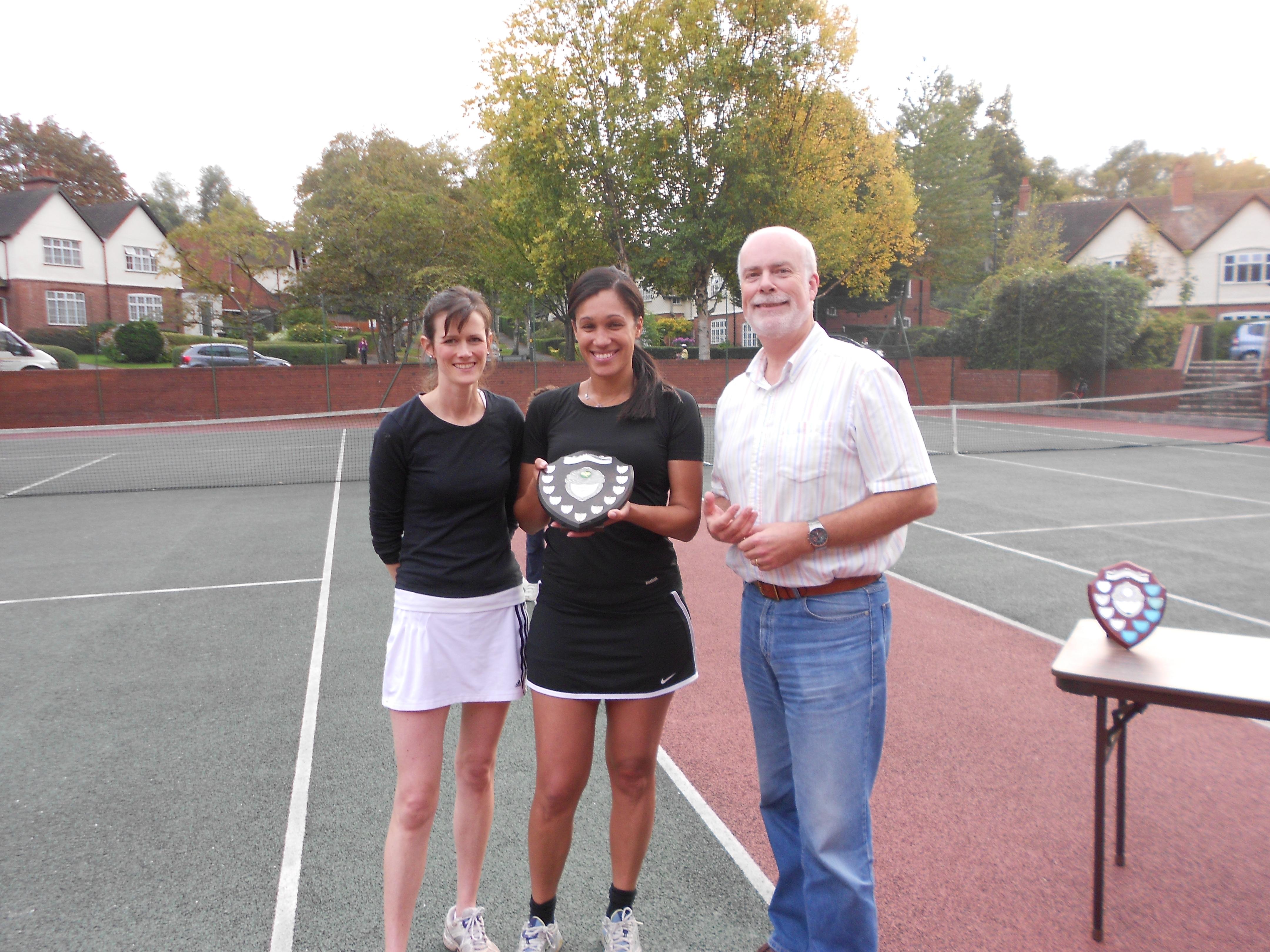 Ladies' Doubles Winners