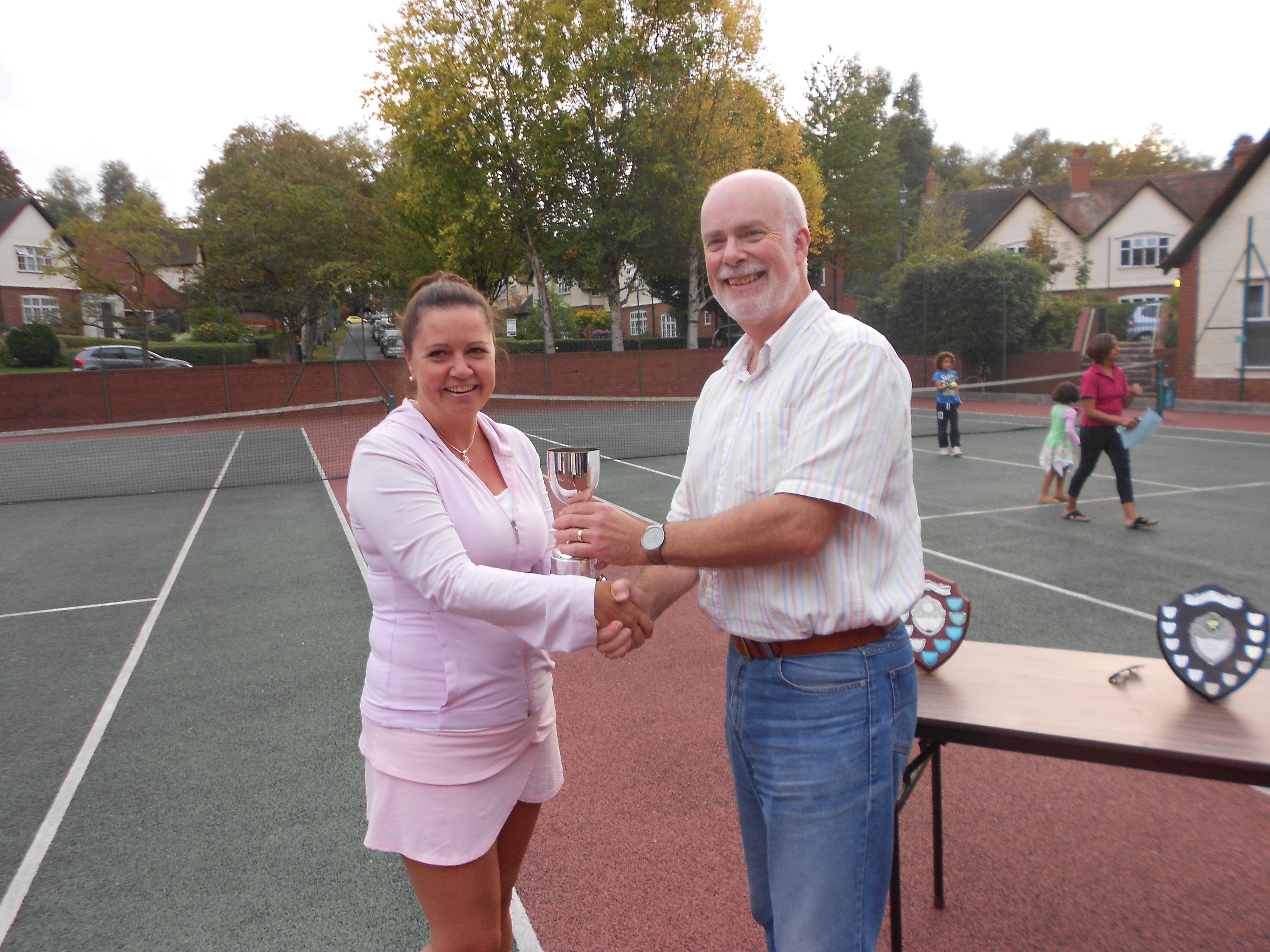 Ladies' Singles Winner