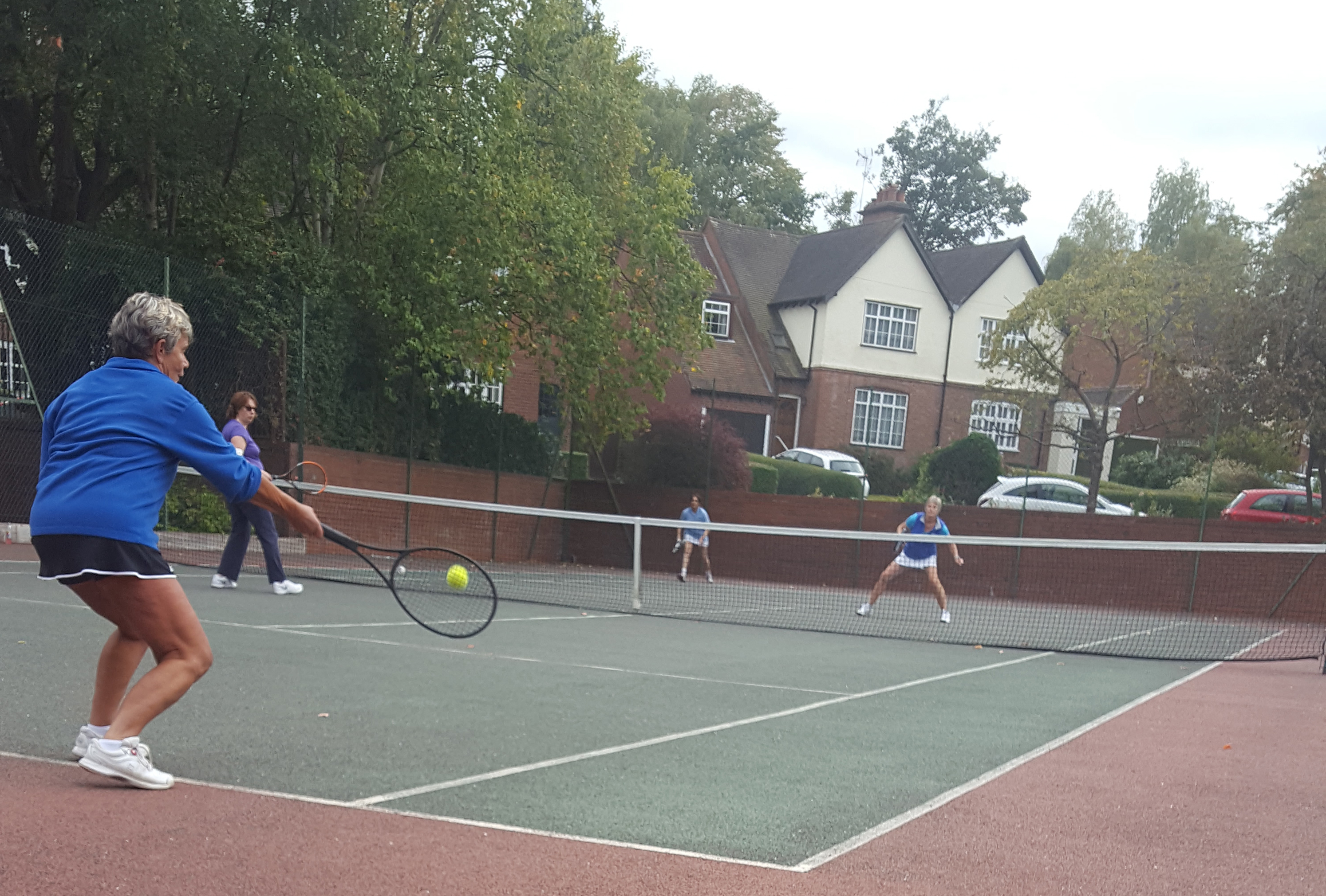Mags Forehand - doubles