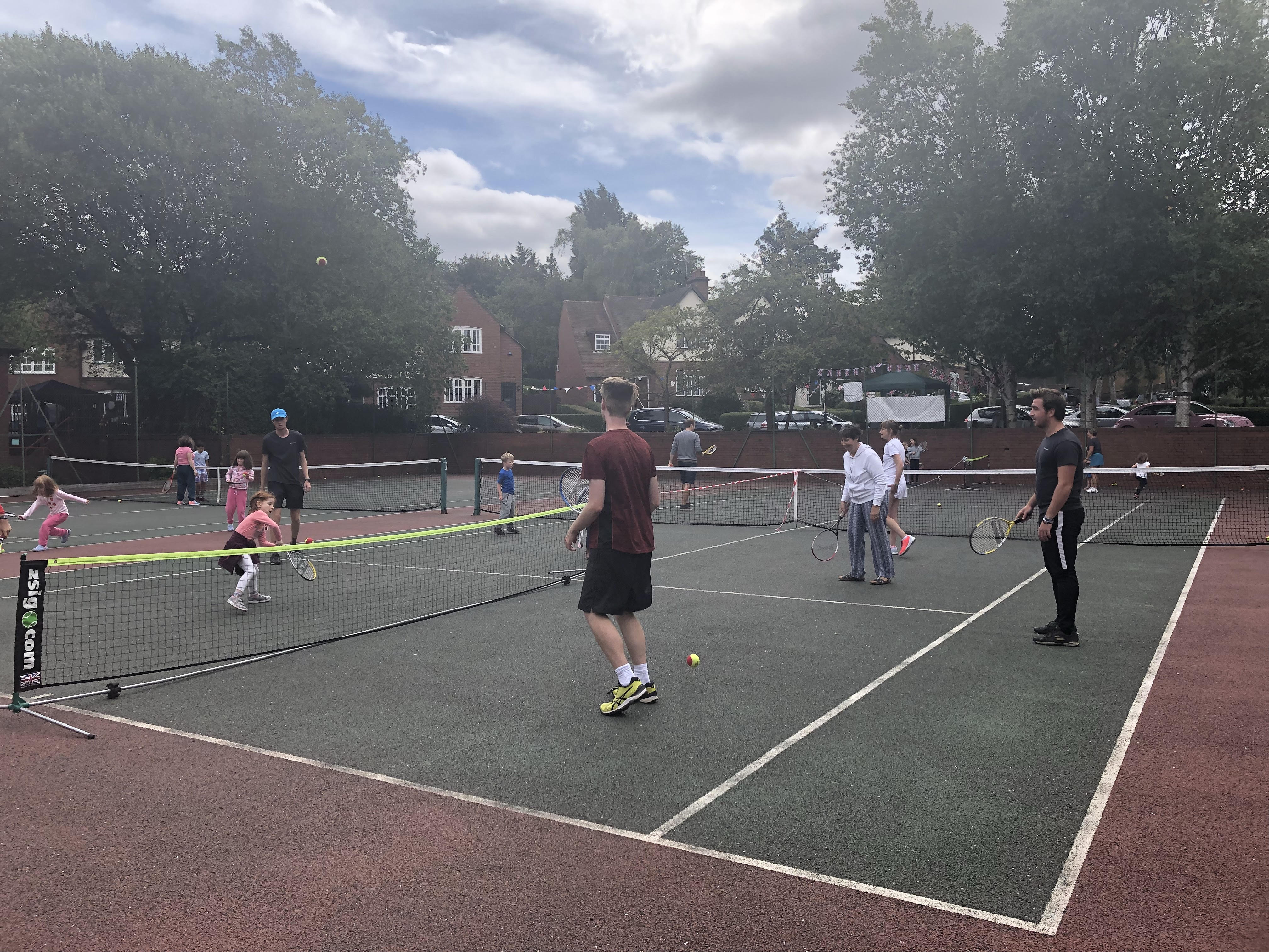 Busy Courts