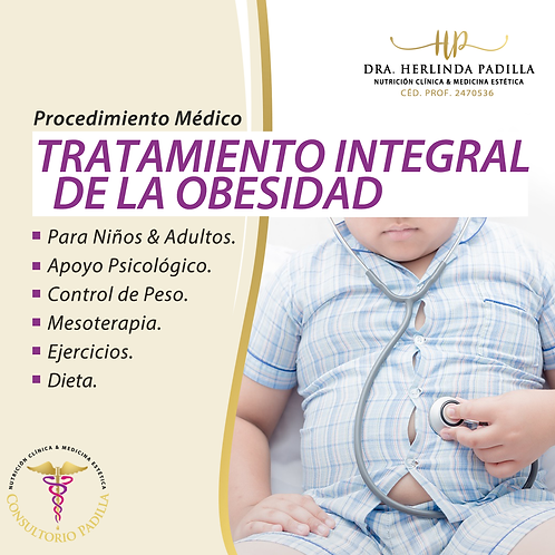 Tratamiento Integral de Obesidad
