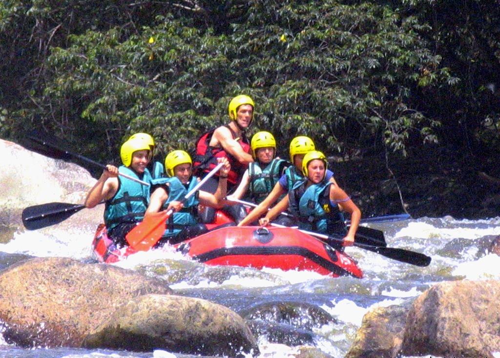 Rafting en el Magdalena