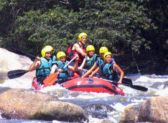 Rafting on the Magdalena