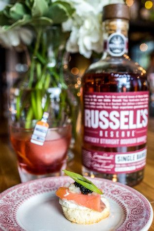 Kobbe Reserved Dinner Series ft. Russell's Reserve at The View at Shires Garden