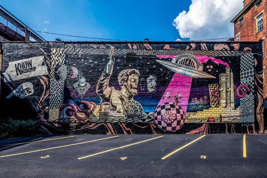 Zinzinnauti Mural - Cincinnati, OH