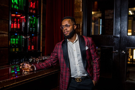 Model: Eric Hilson Suit: Phillipe Haas Bespoke Tailor