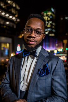 Model: Eric Hilson Suit: Phillipe Haas Bespoke Tailor Location: Igby's