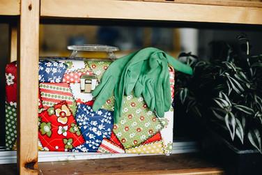 Clothing / Styling: Pistil Vintage Location: Urban Blooms Warehouse at Felsenhaus