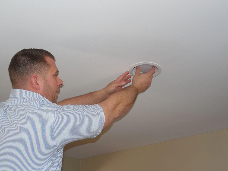 Recessed Lighting Install 4 Ct