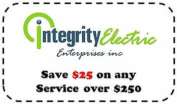 Integrity Electric Deal - Buffalo Electrician - coupon