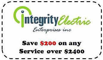 Integrity Electric Deal - WNY Electrician - Coupon